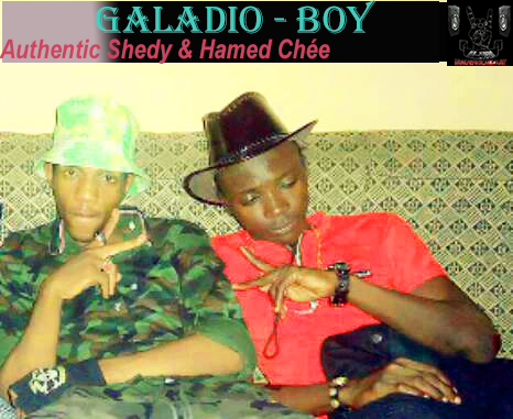 Authentic Shedy feat & Hamed Chée «Galadio-Boy» [SON]