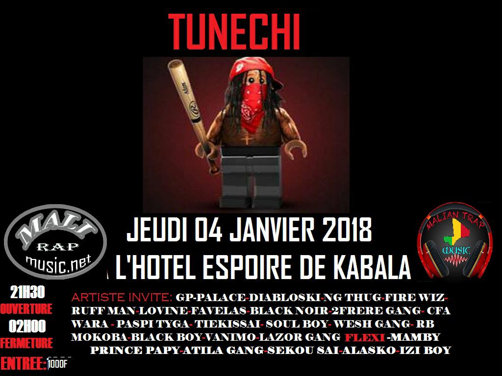 Tunechi Concert du 04 Janvier