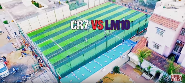 Papson feat Magass – CR7 VS LM10 (Clip Officiel)