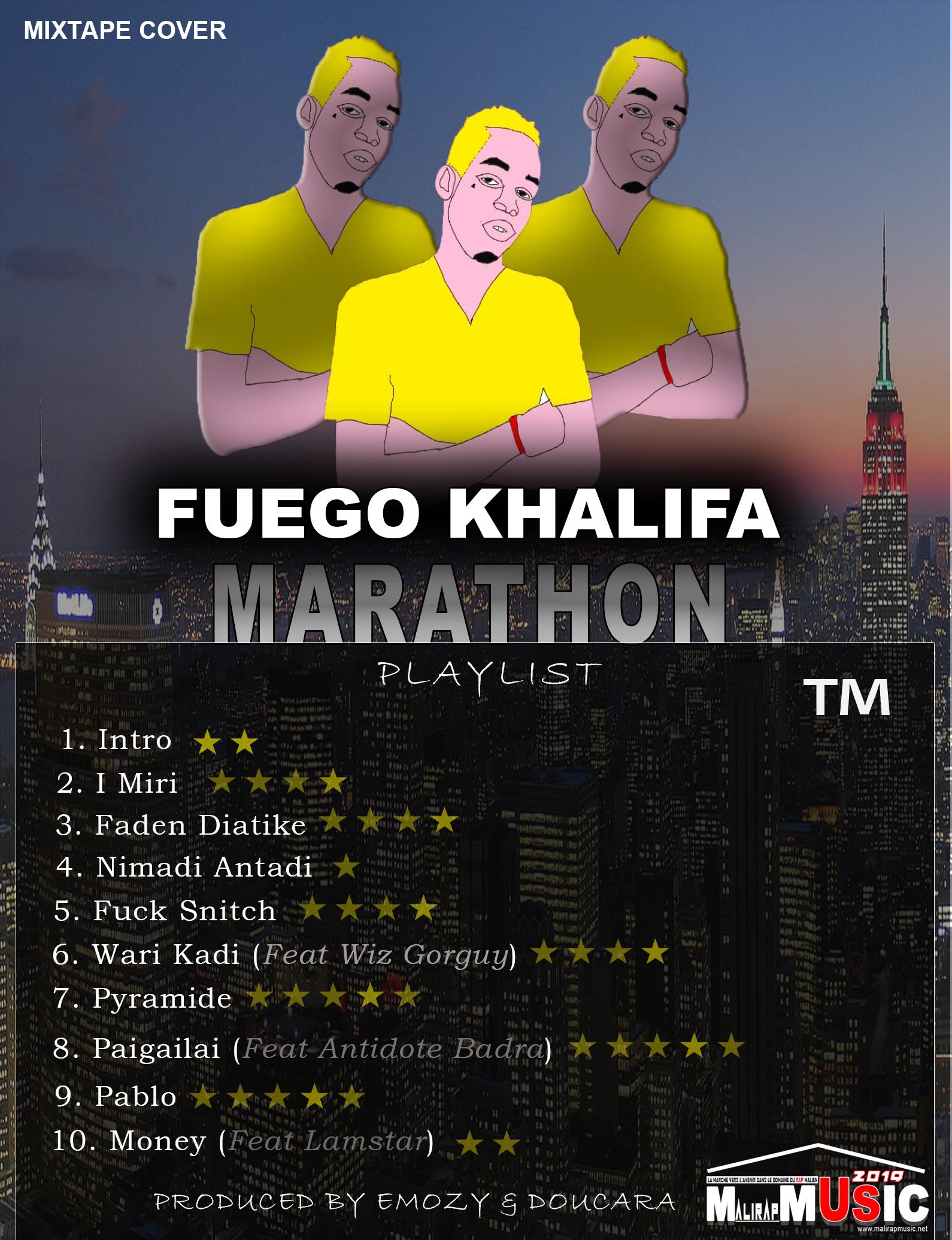 Fuego Khalifa – Mixtape Marathon (2O19)