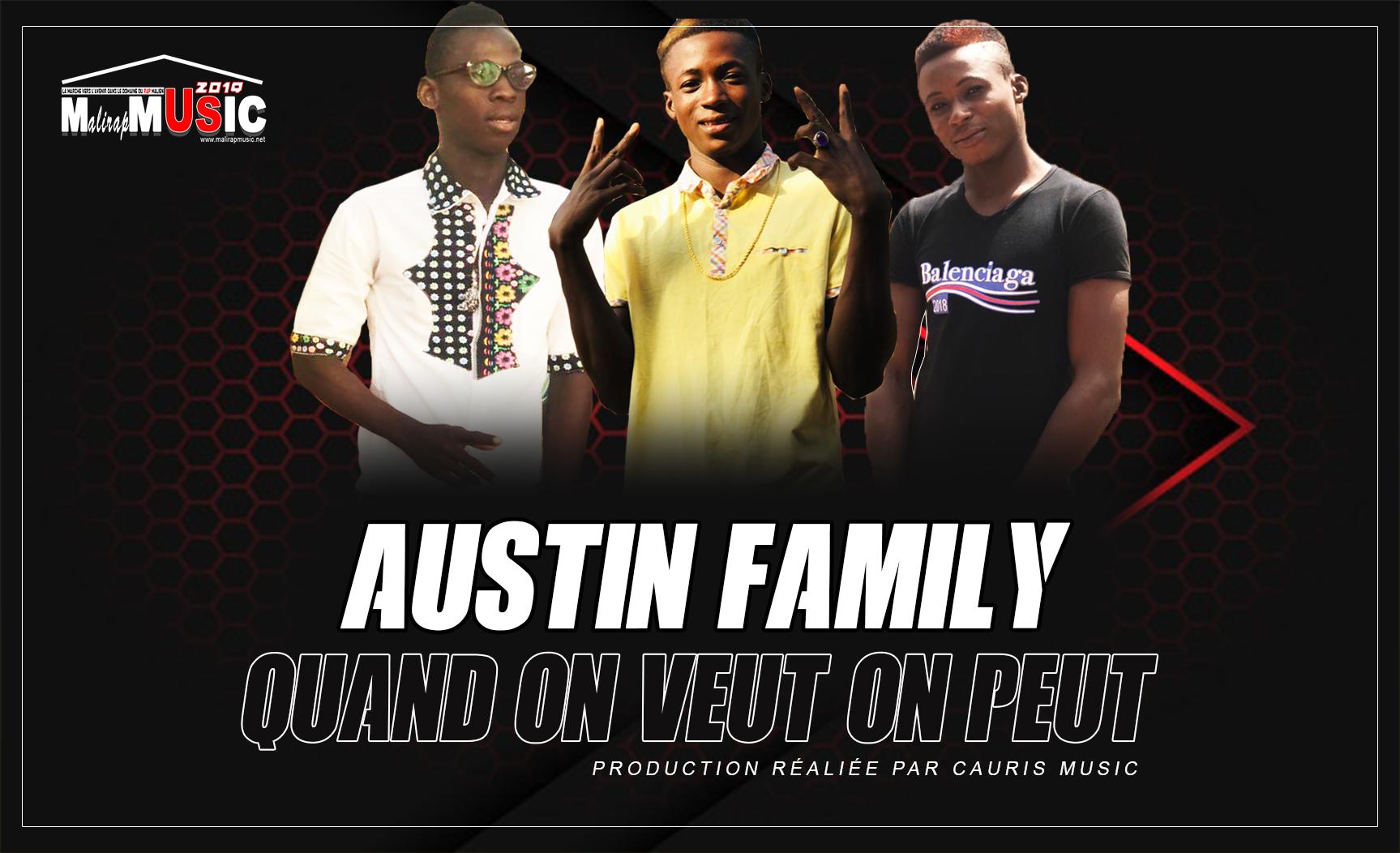 AUSTIN FAMILY – QUAND ON VEUT ON PEUT (2019)