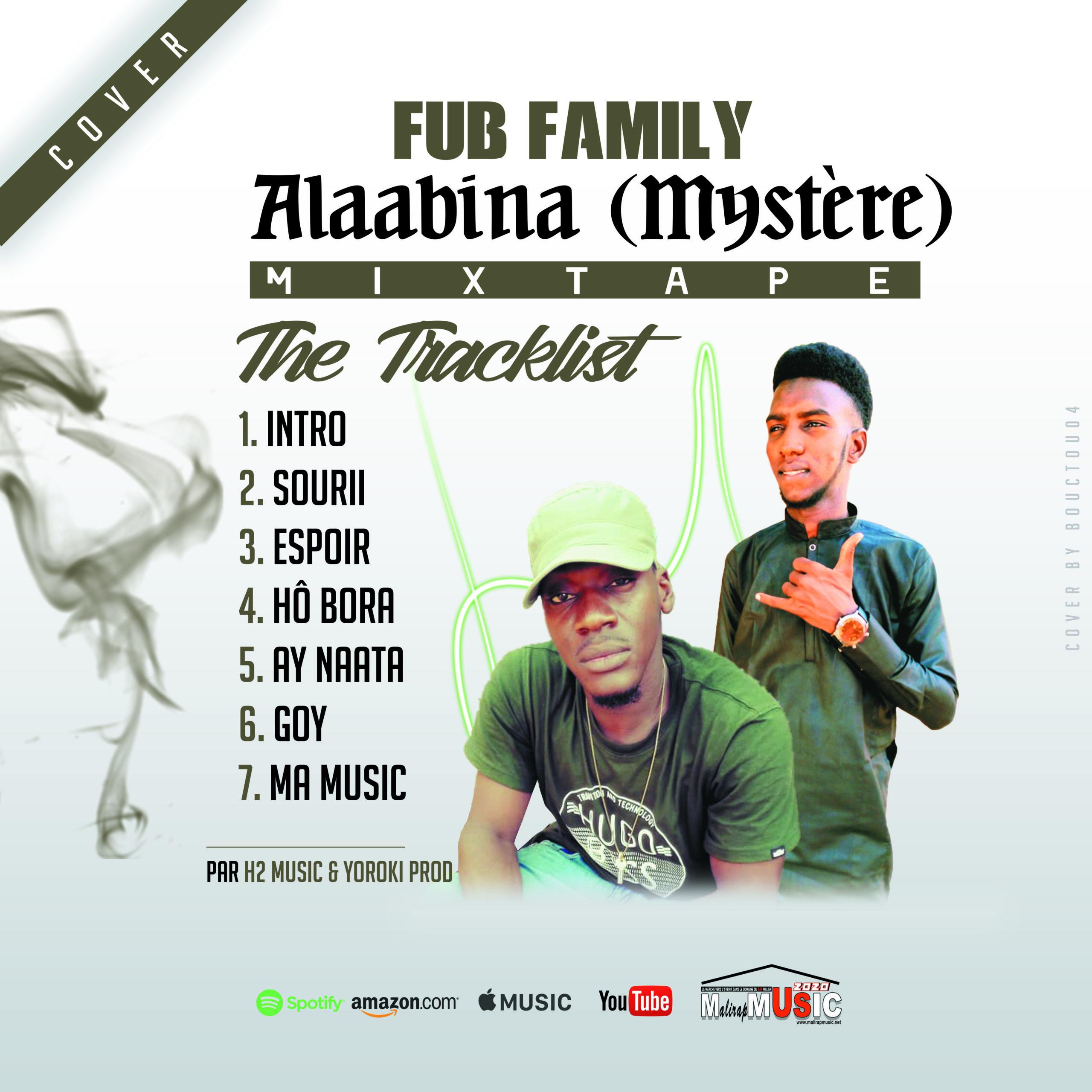 FUB FAMILY – ALAABINA «Mystère» (Mixtape)