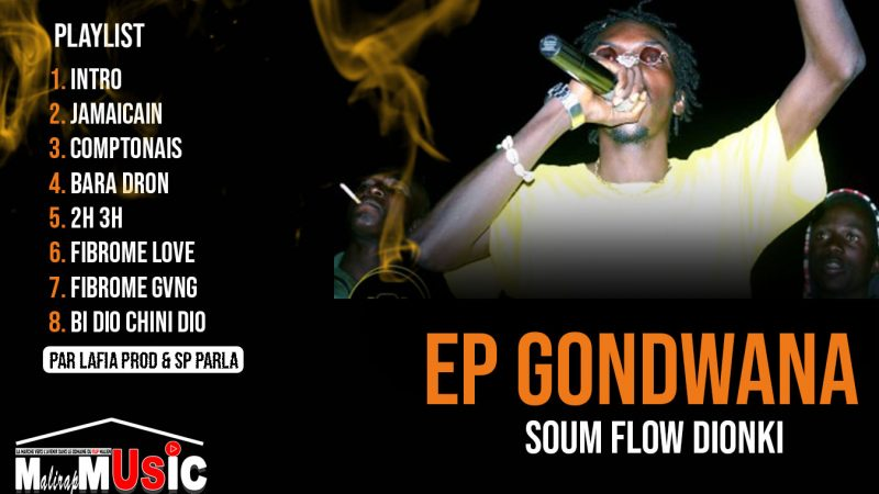 SOUM FLOW DIONKI – EP: GONDWANA (2021)
