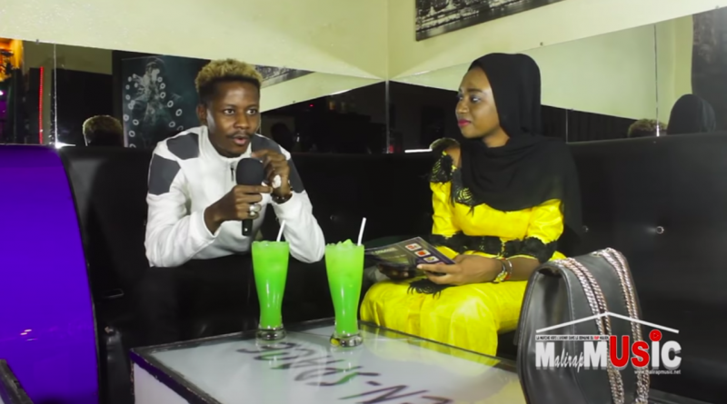 Antidote Badra sur le plateau de mali rap music