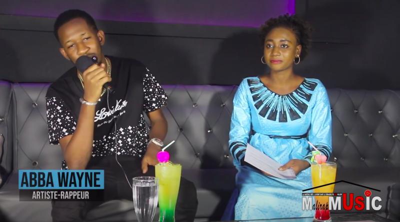 Abba Wayne sur le plateau de Mali Rap Music